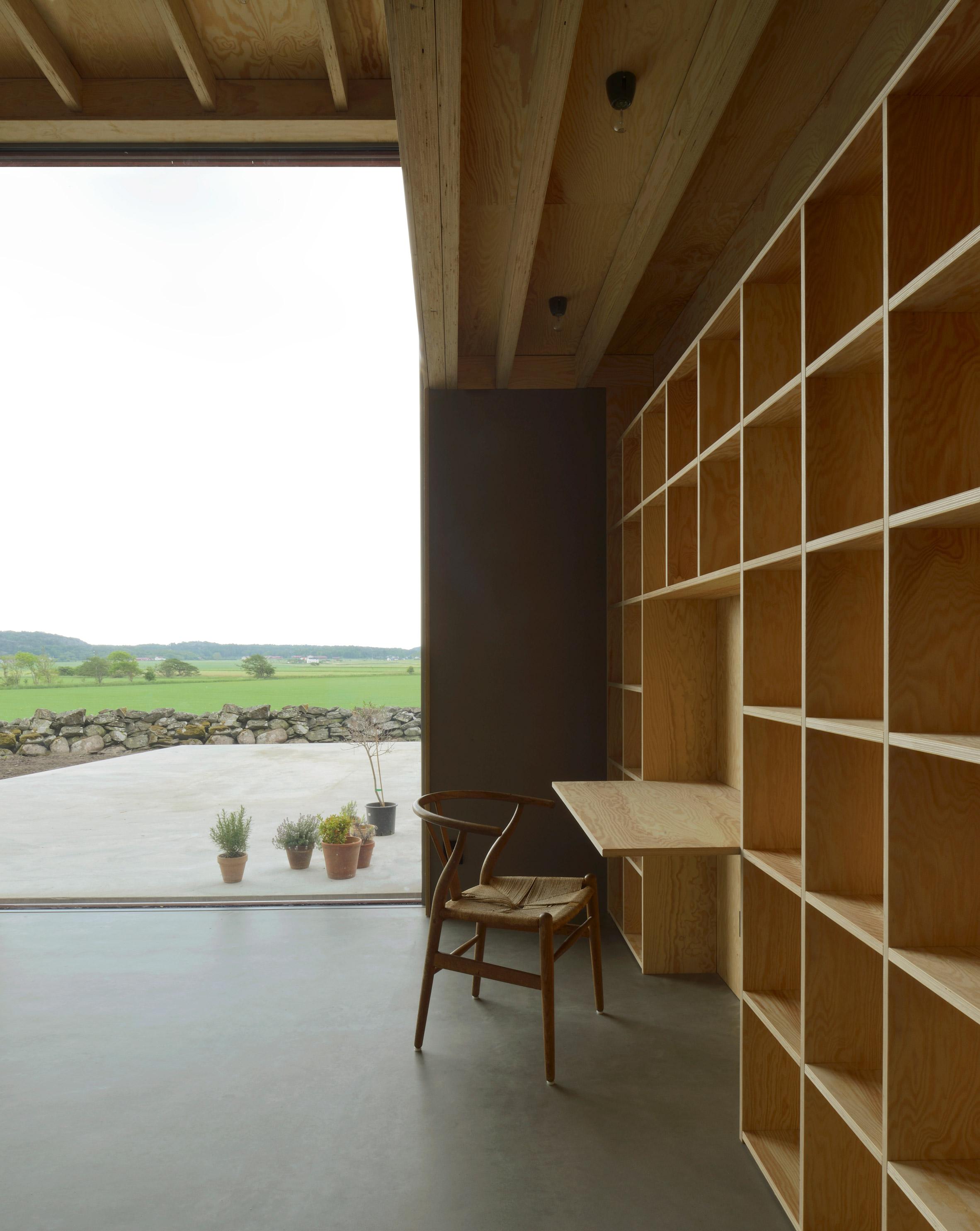 Späckhuggaren, 'House for a Drummer' by Bornstein Lyckefors Architects