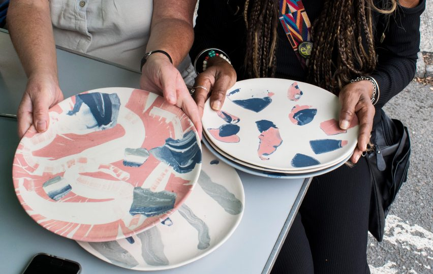 The Turner Prize-winning social enterprise Assemble's The Granby Workshop imprint have released their first collection of tableware, SPLATWARE.