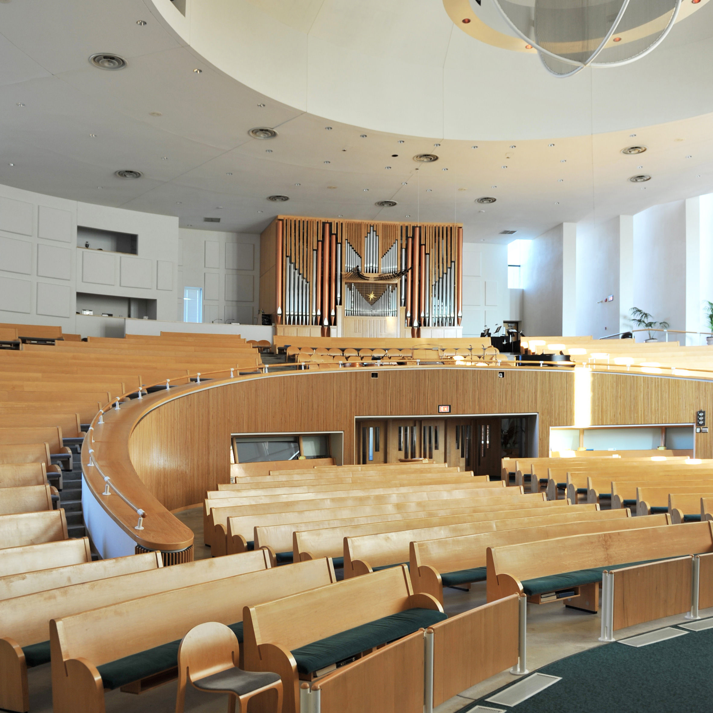 St Peter's Lutheran Church by Gunnar Birkerts, 1988
