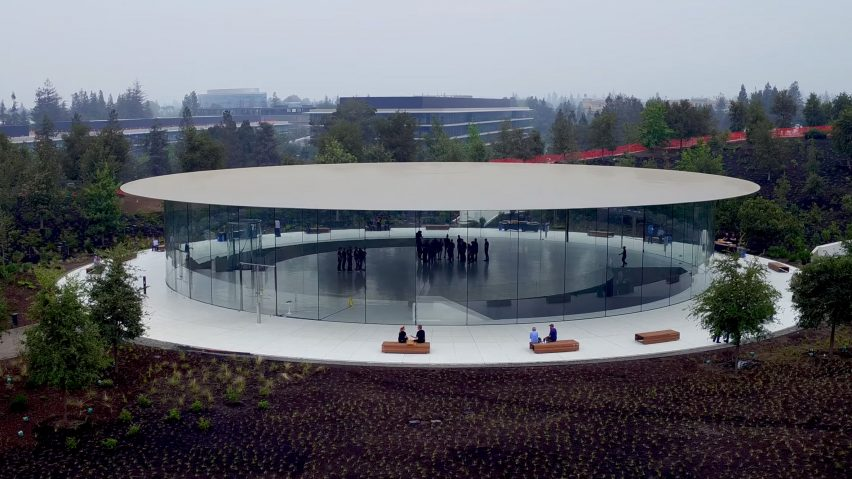Steve Jobs Theater at Apple Park by Foster + Partners