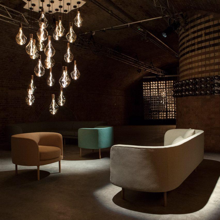 Tala's Voronoi bulb at London Design Festival 2017