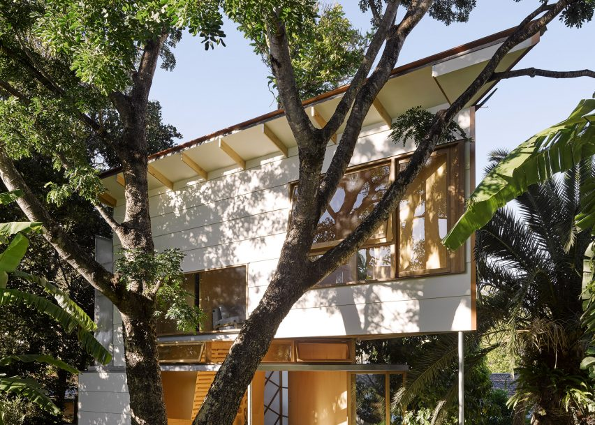 Garden Room Features A Treehouse Inspired Design And A Climbing Wall