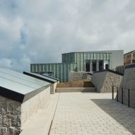 Jamie Fobert sinks Tate St Ives extension into Cornish cliff facing the Atlantic Ocean