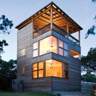 Andersson-Wise's Tower House provides cabin with extra lakefront accommodation