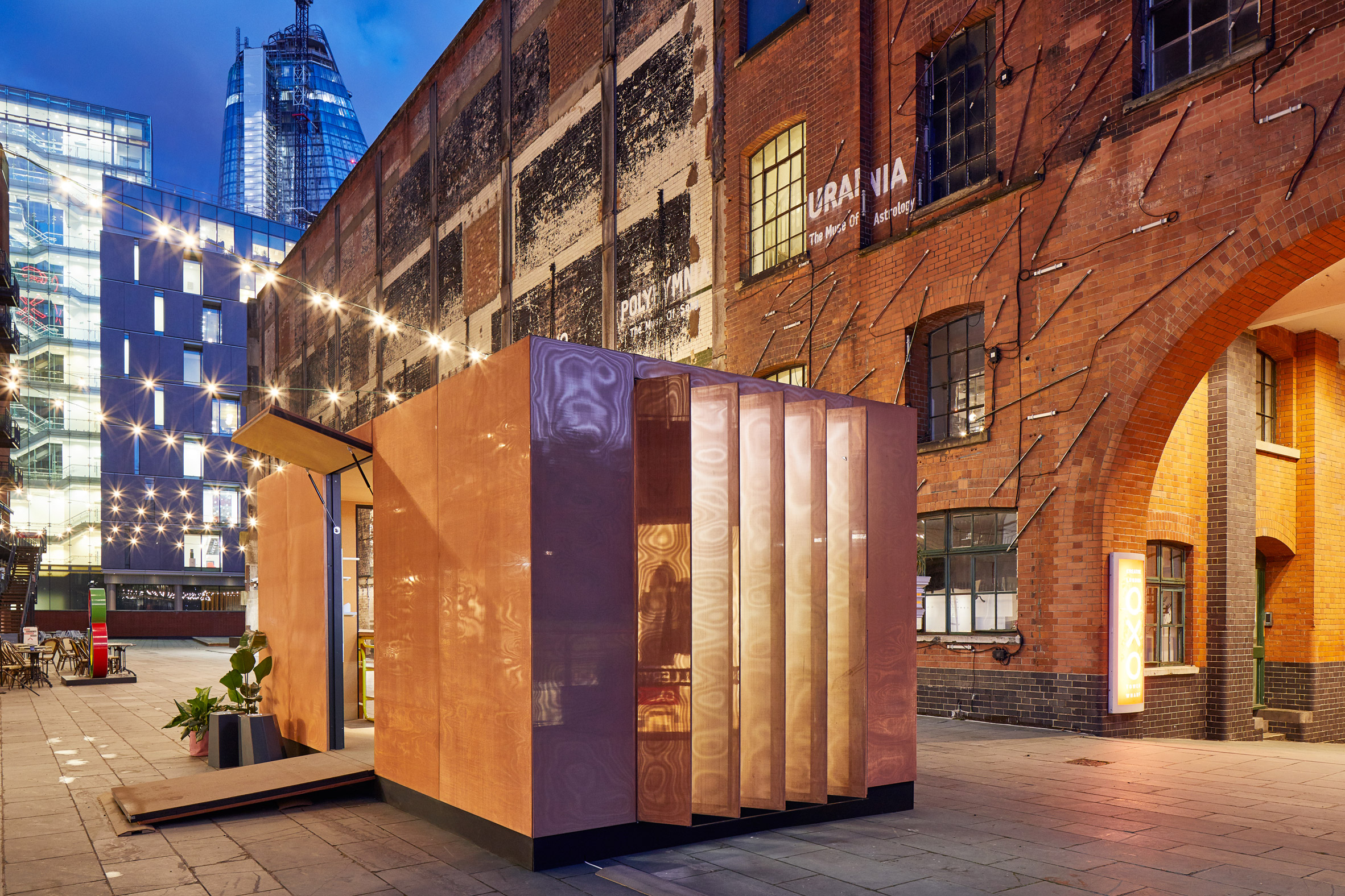 Sam Jacob and MINI team up to create micro home with attached library
