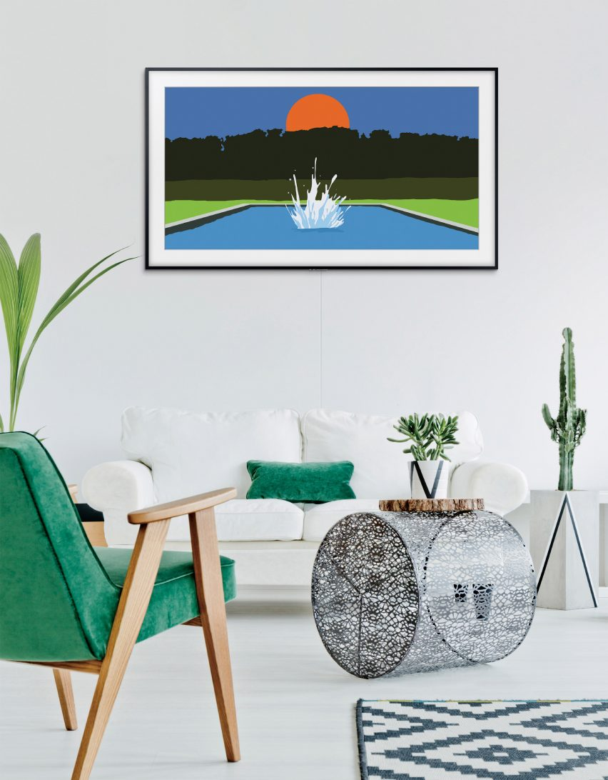 The Frame television by Samsung