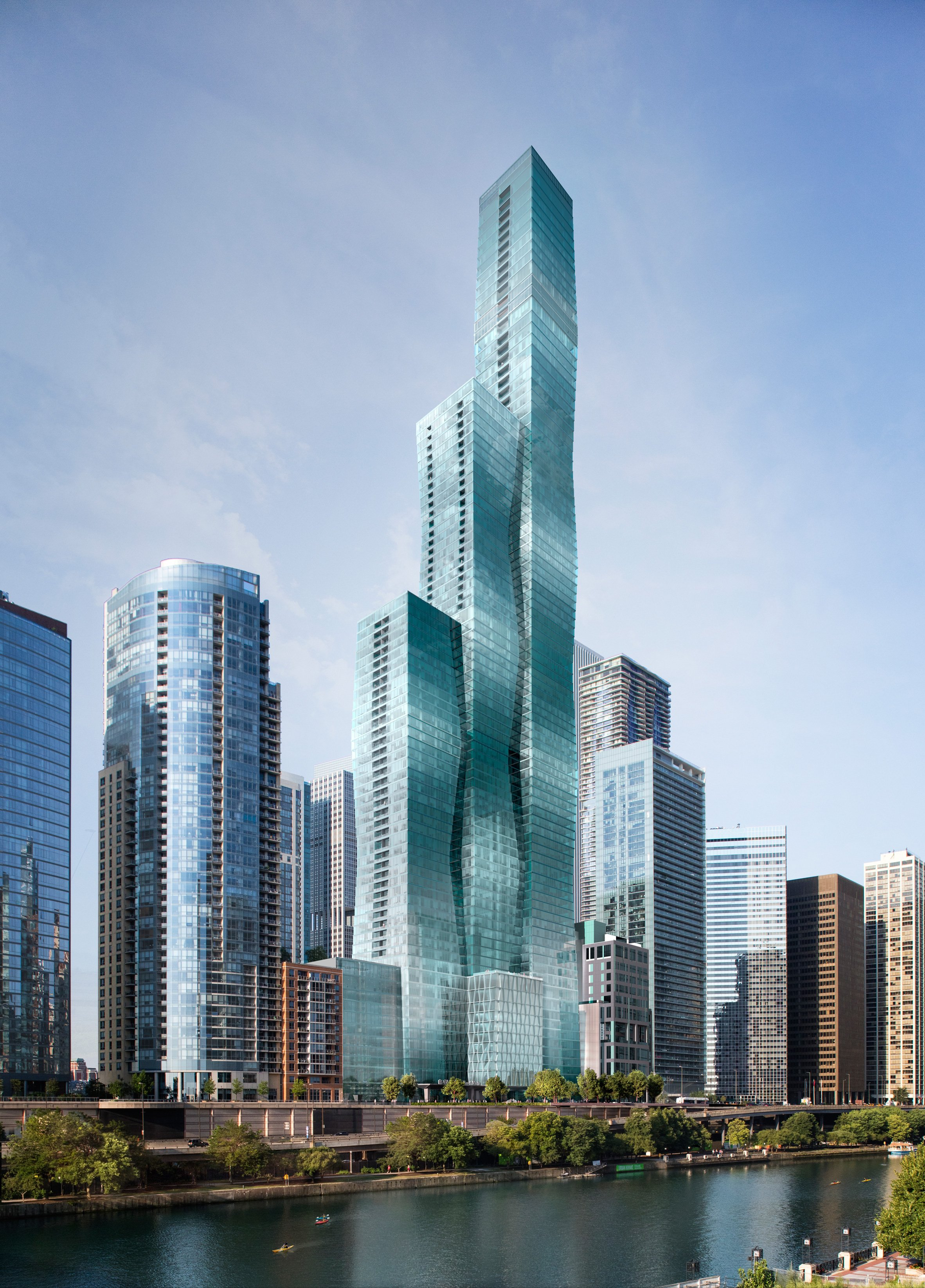 Five skyscrapers set to transform Chicago's skyline