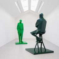 Sculptures of Richard Rogers and Renzo Piano to be installed at Centre Pompidou