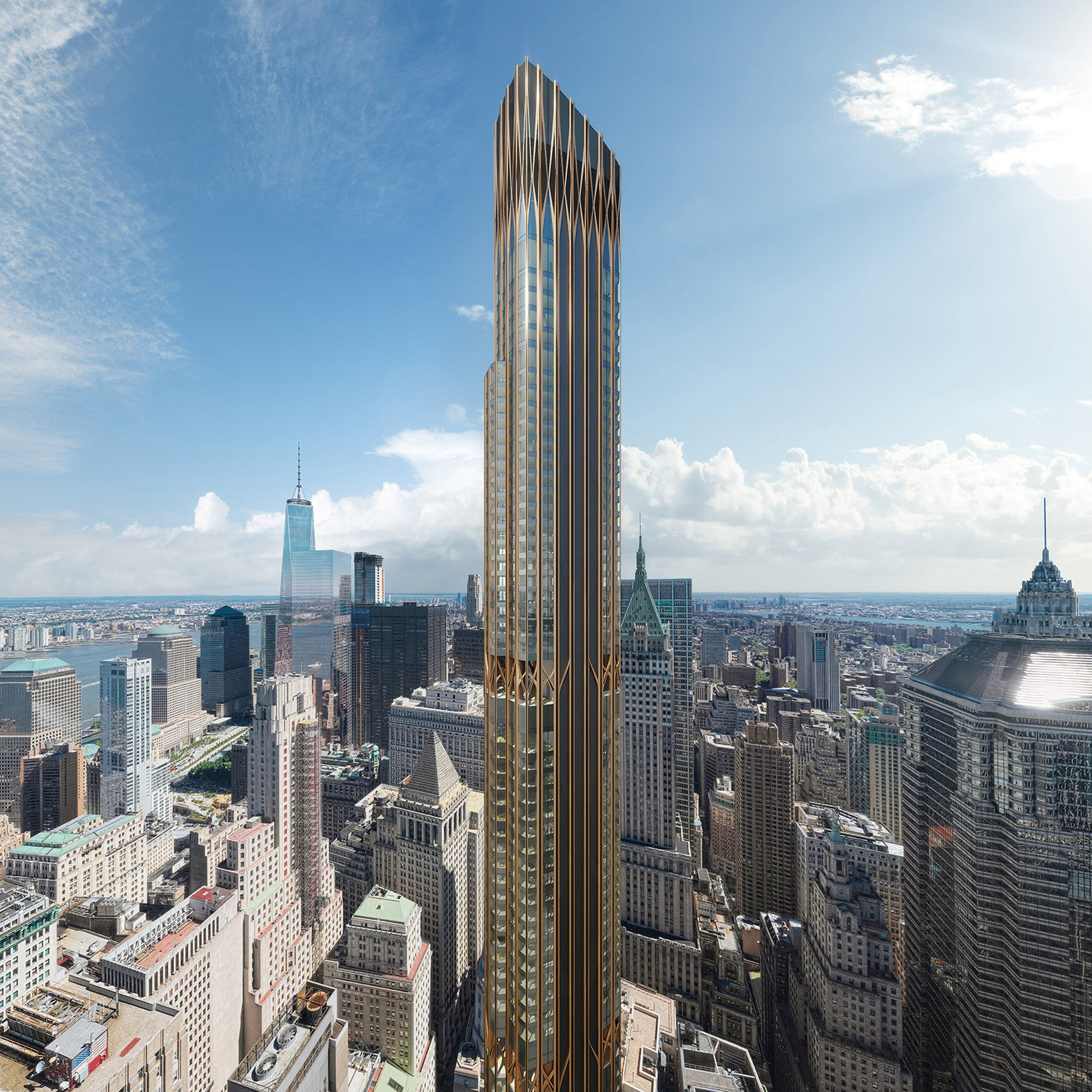CetraRuddy's 45 Broad Street to become Lower Manhattan's tallest residential skyscraper