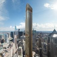Construction on CetraRuddy's supertall tower in Downtown Manhattan is postponed indefinitely
