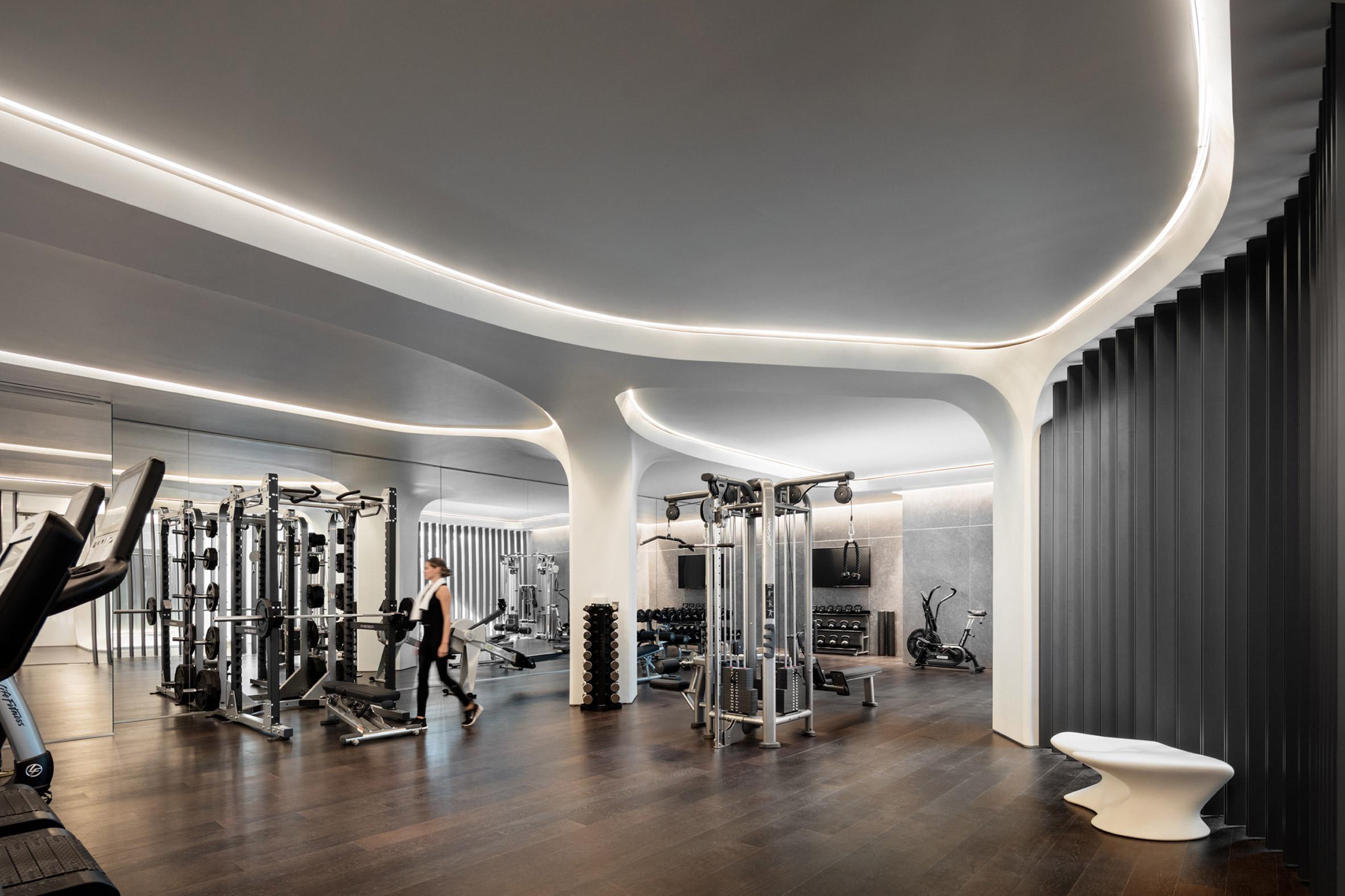 520 W 28th Amenities by Zaha Hadid Architects