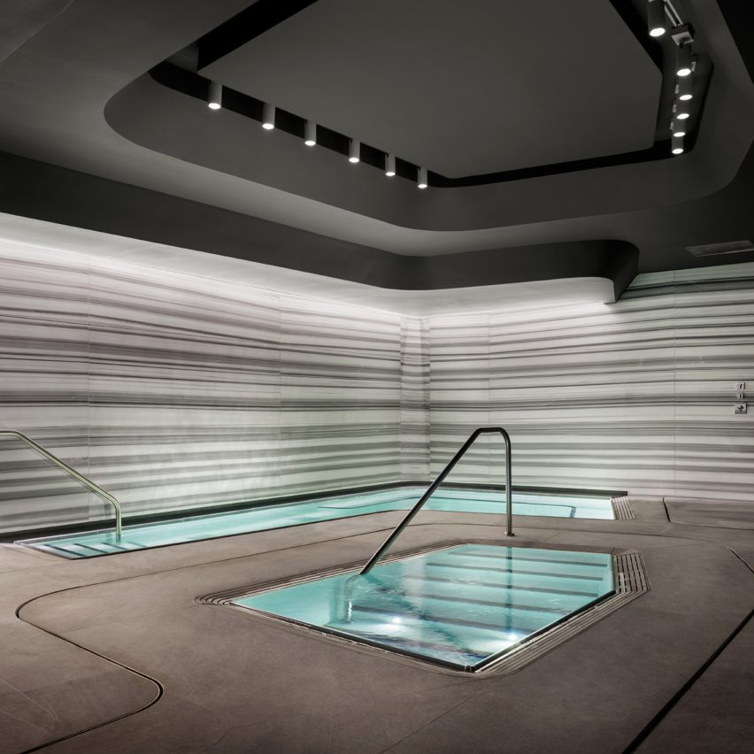 520 W 28th Amenities by Zaha Hadid Architects