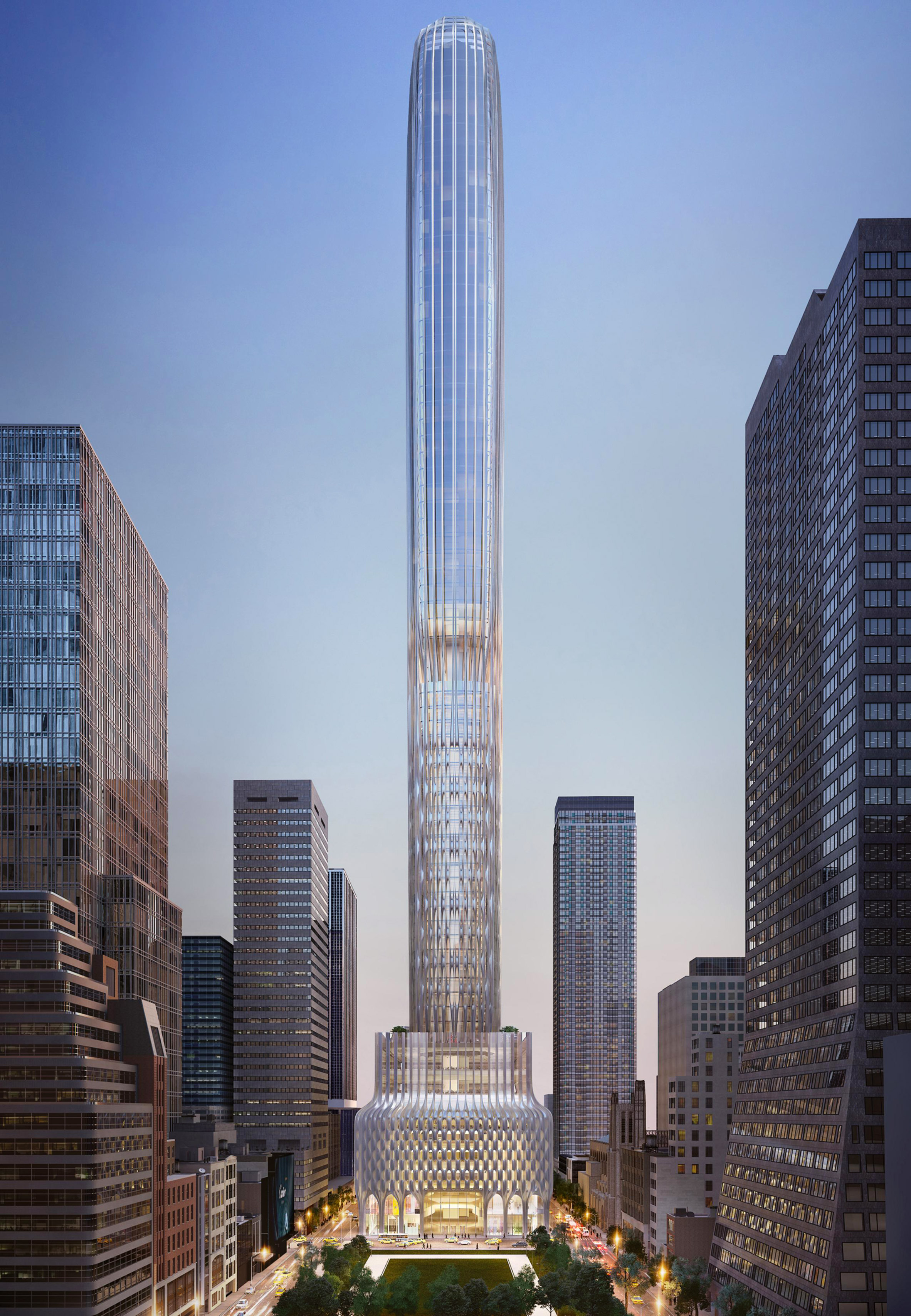 Zaha Hadid Architects' 666 Fifth Avenue skyscraper unlikely to go ahead