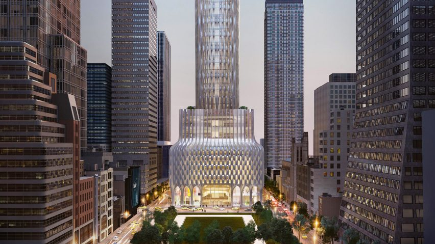 666 Fifth Avenue skyscraper proposal by Zaha Hadid Architects