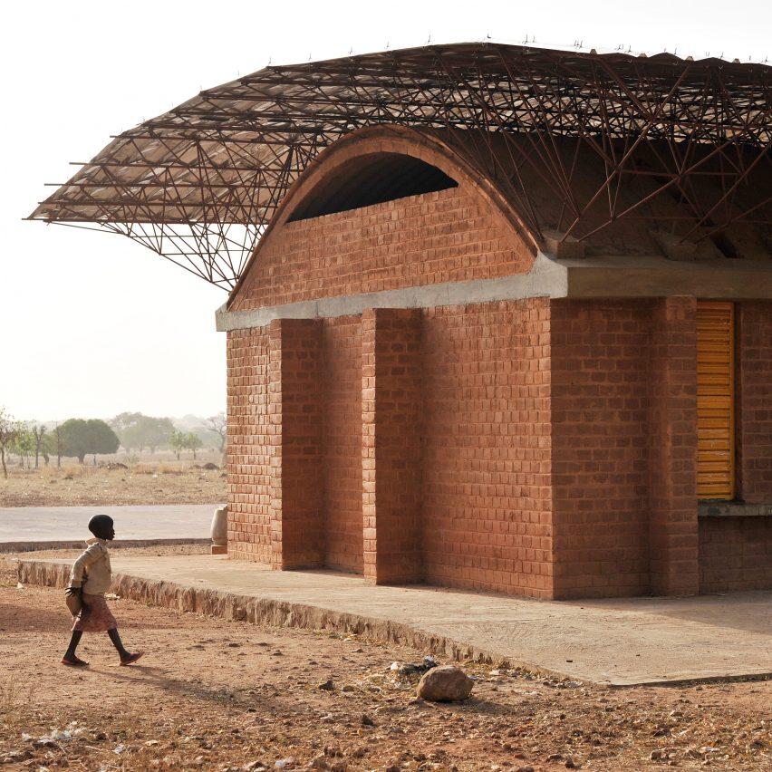 "Diébédo Francis Kéré says school that launched his career is ""not a traditional African building"""