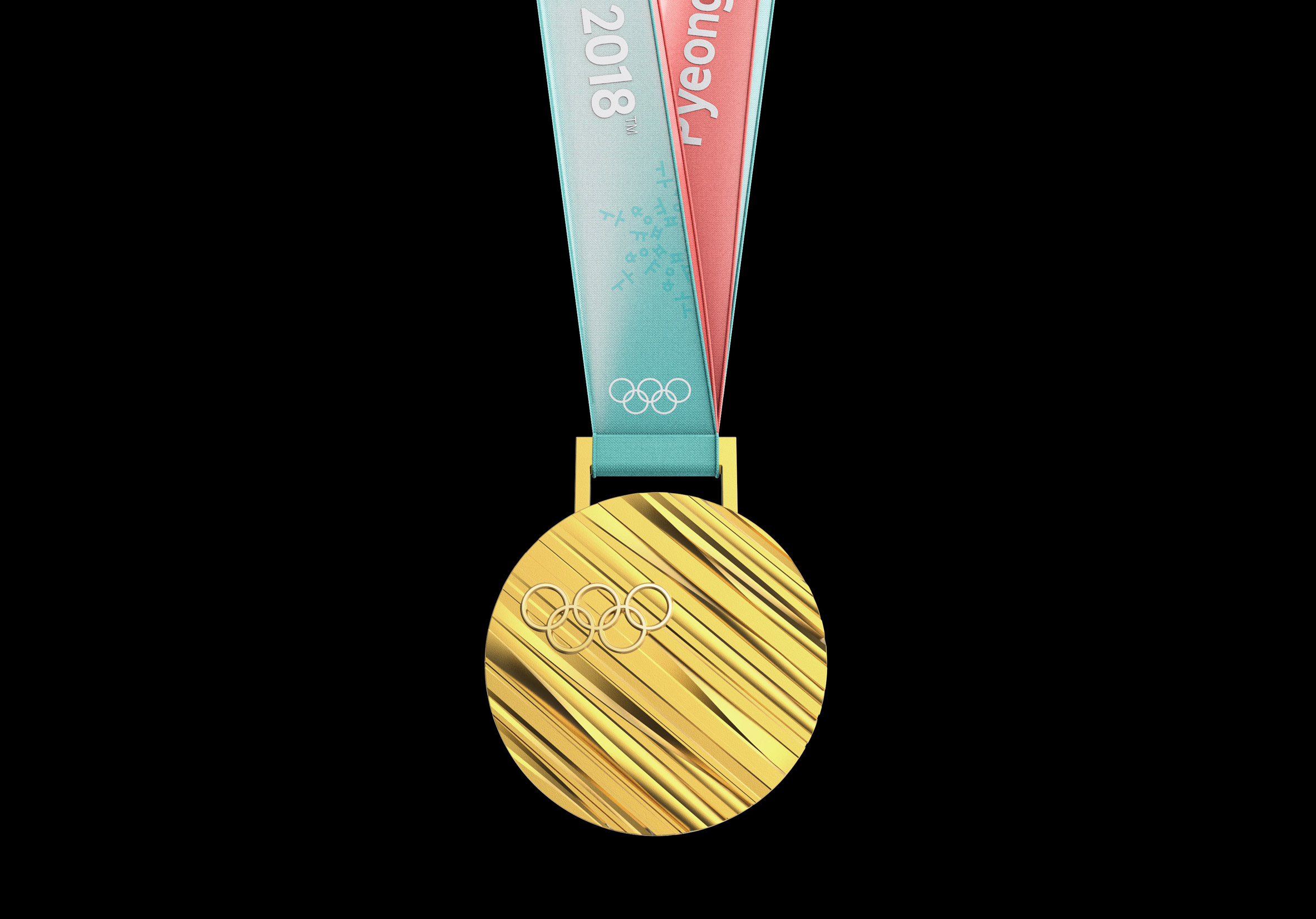 Medals for 2018 Winter Olympics are based on Korean alphabet