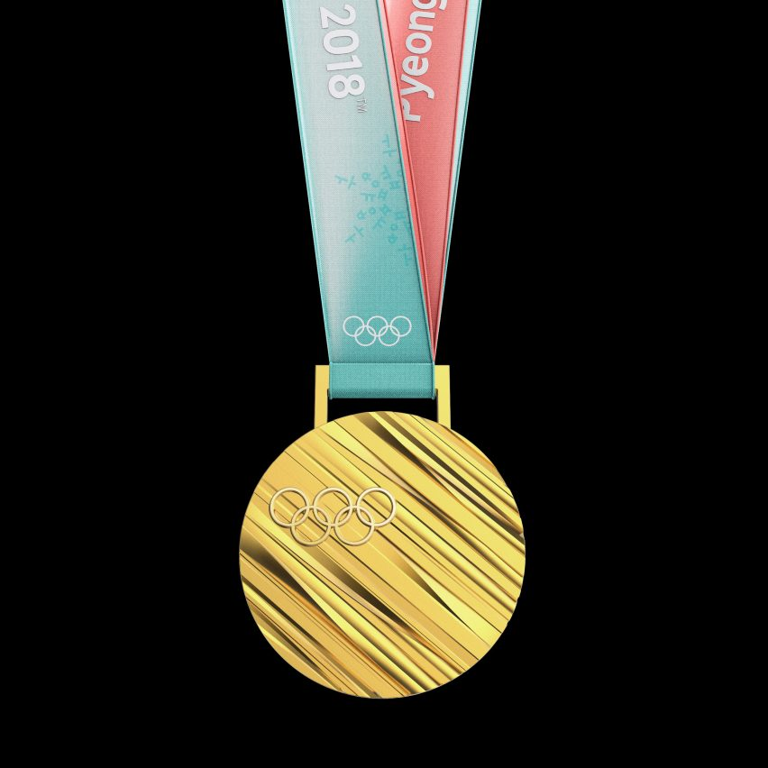 Medals for 2018 Winter Olympics are based on Korean ...