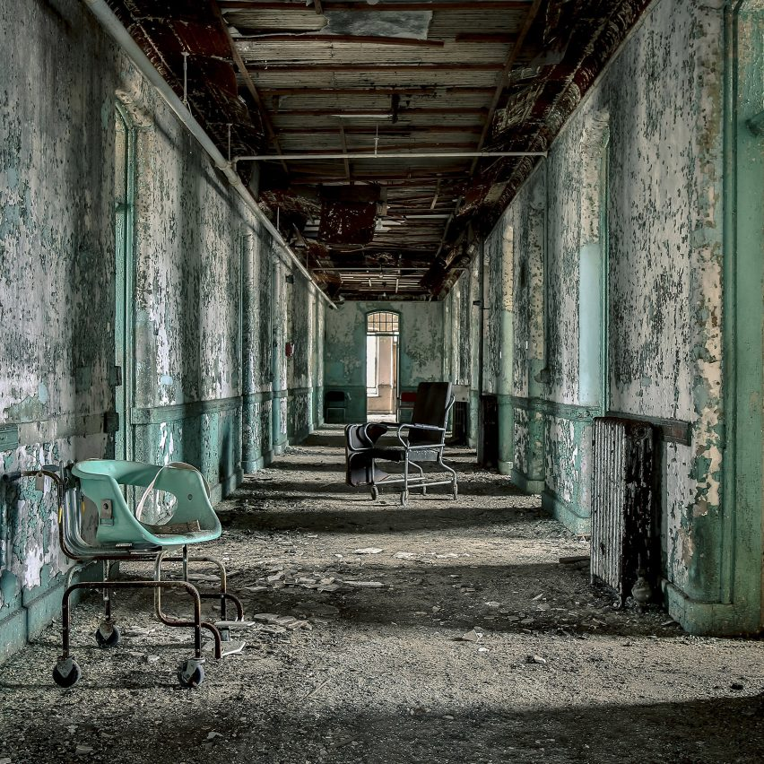 Abandoned Asylums by Matt van der Velde