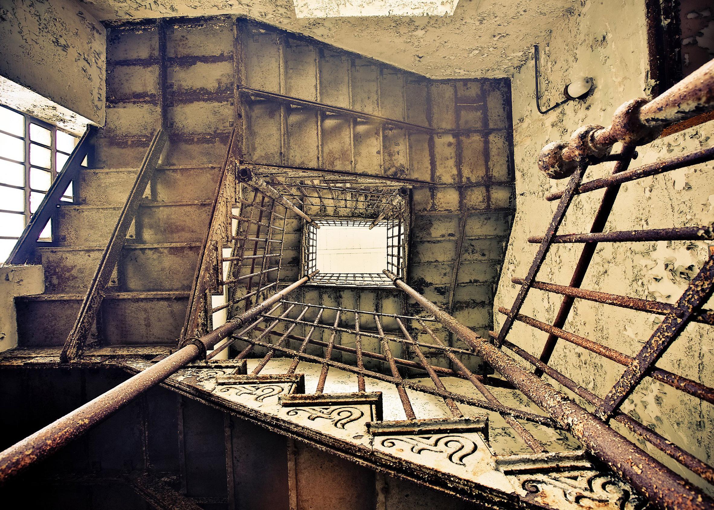 Abandoned Asylums by Matt van der Velde