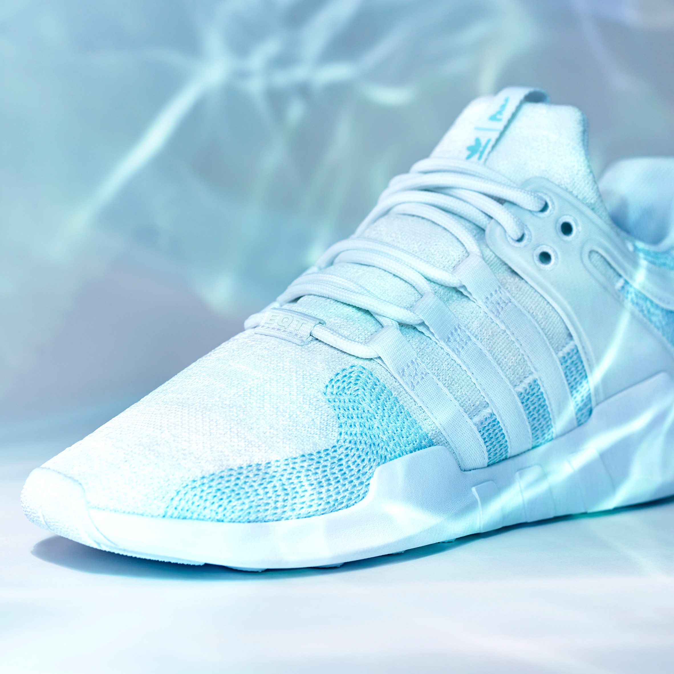 online store 70ec6 efcd1 Adidas uses Parley ocean plastic to update one of its classic shoe ...