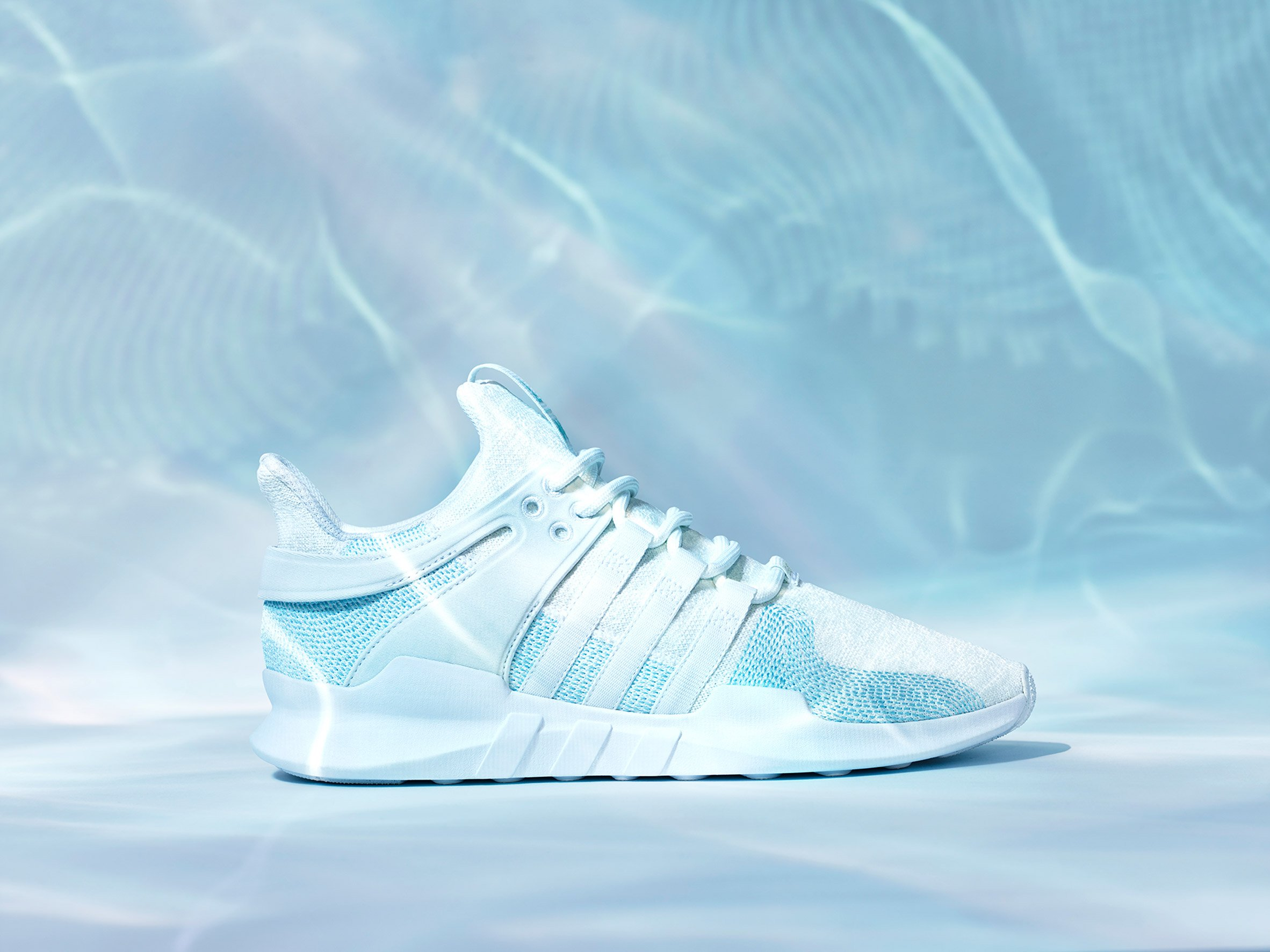 online retailer a9173 3e1fd Adidas uses Parley ocean plastic to update one of its ...