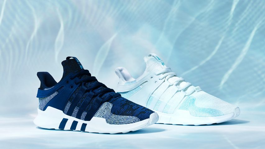 classic fit f48a2 33385 Adidas uses Parley ocean plastic to update one of its classic shoe designs