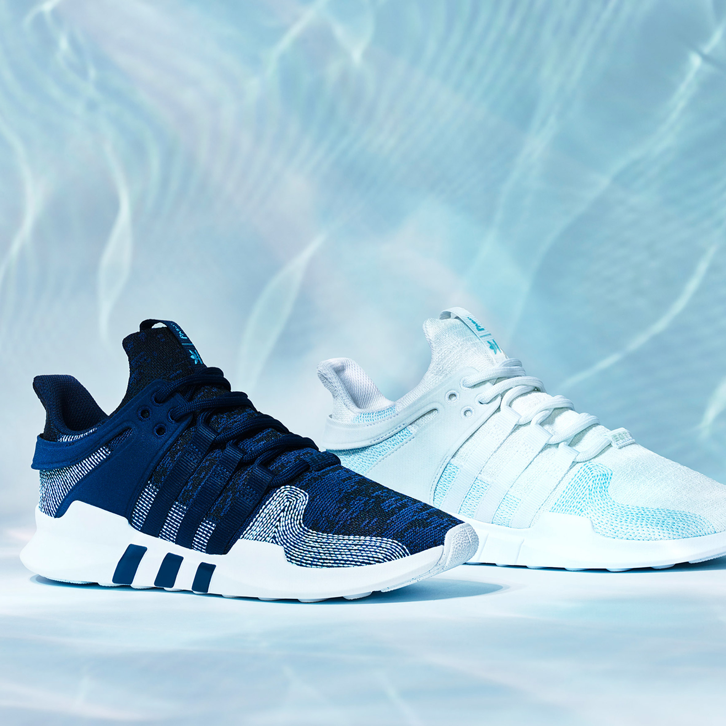 Adidas uses Parley ocean plastic to