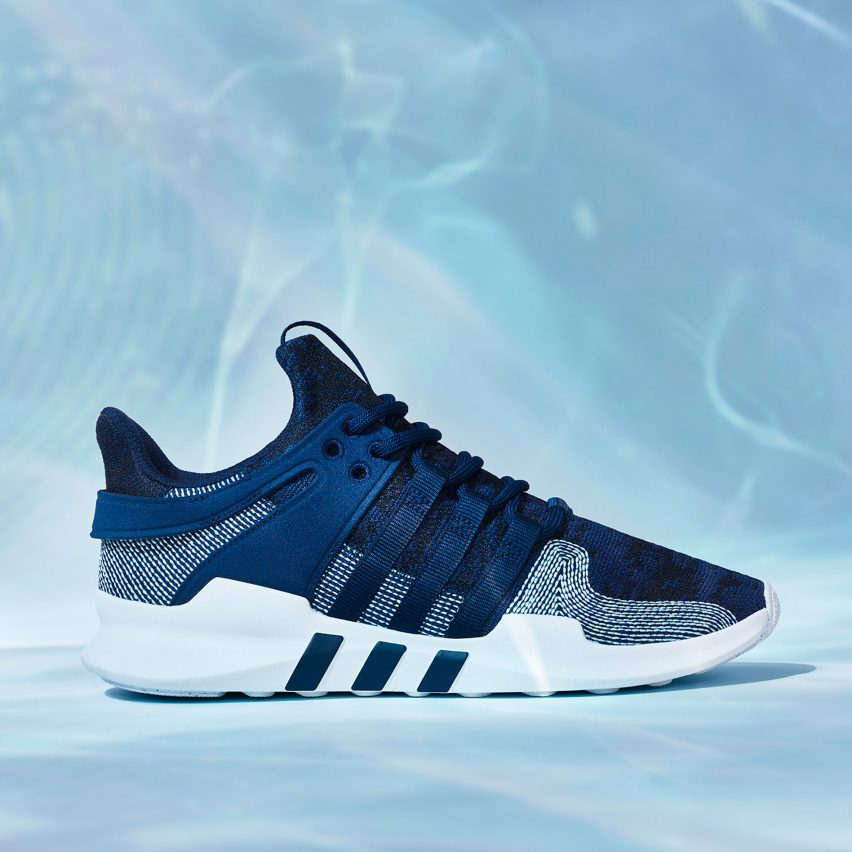 official photos 3c8fd 730ca It is the first time that Adidas has used Parley ocean plastic to create a  shoe from its Originals range, which is the companys line of heritage  products.