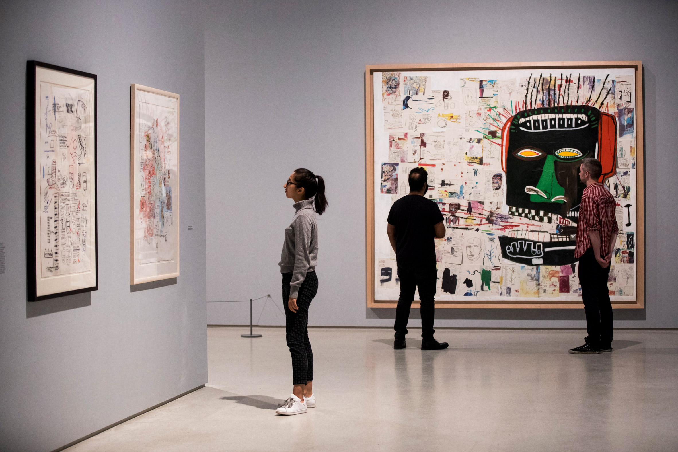 Jean-Michel Basquiat's art reconstituted the world around him, says Boom for Real curator