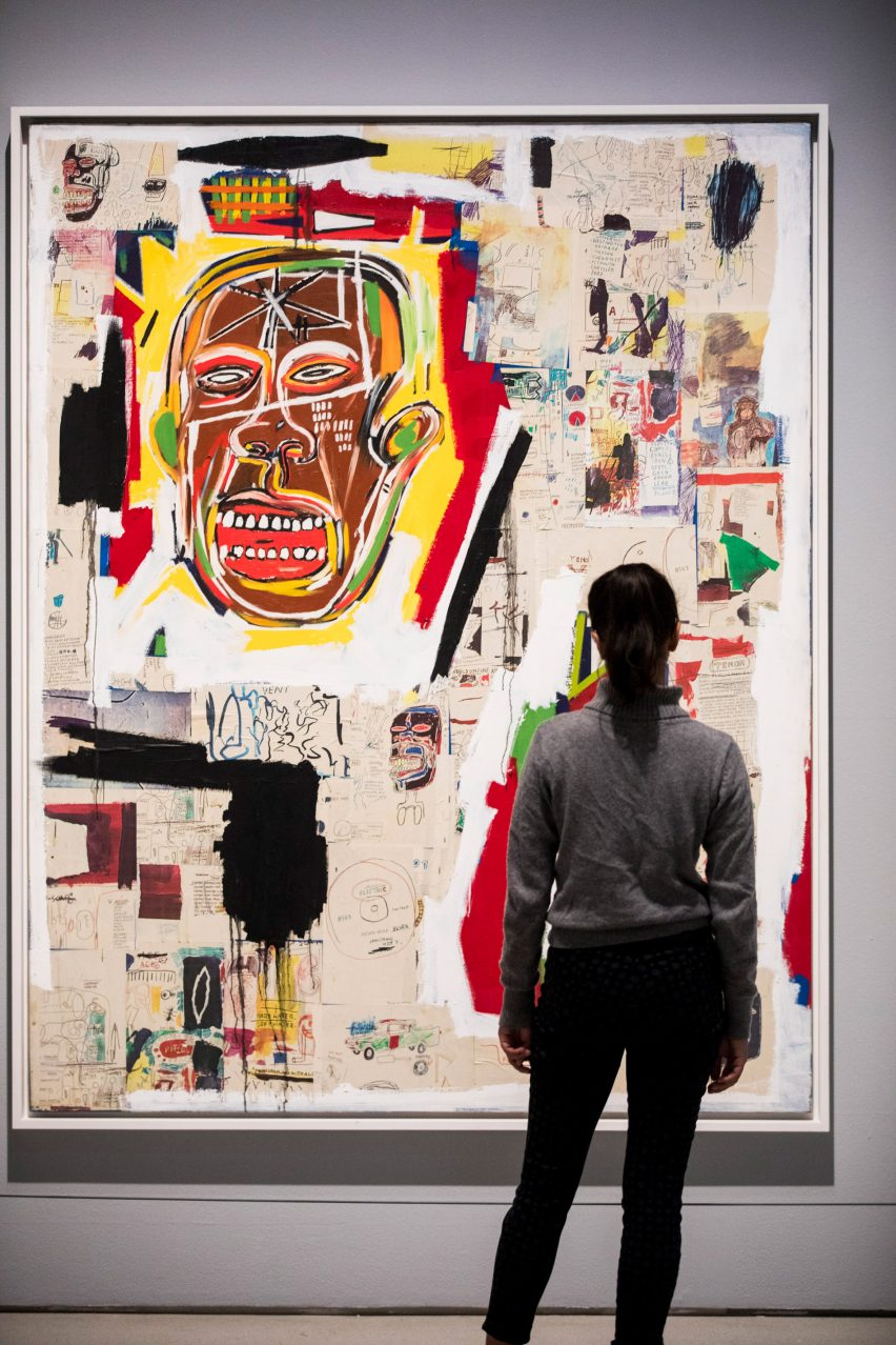 Basquiat: Boom for the real exhibition at the Barbican in London.