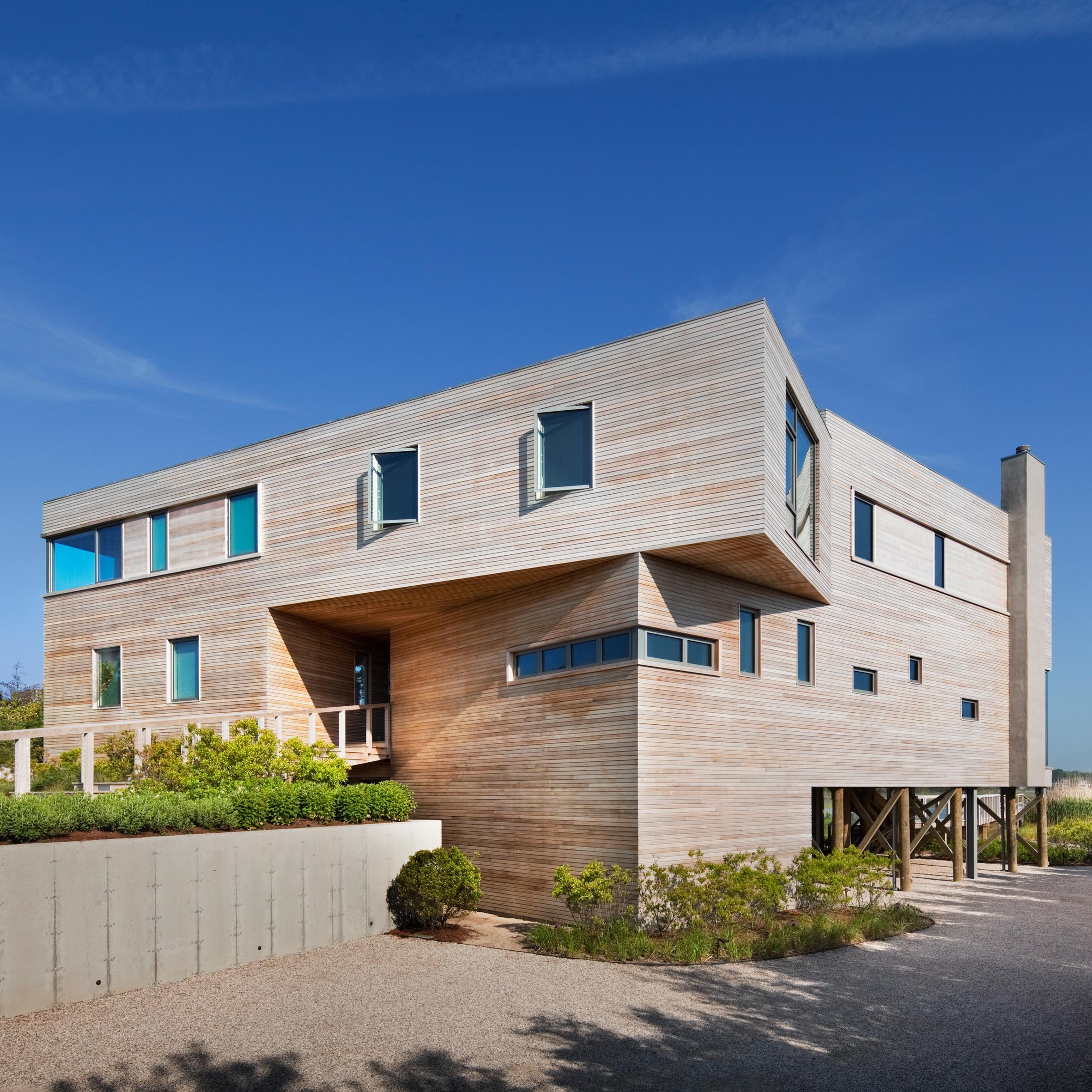 Bay House by Leroy Street Studio, The Hamptons, USA
