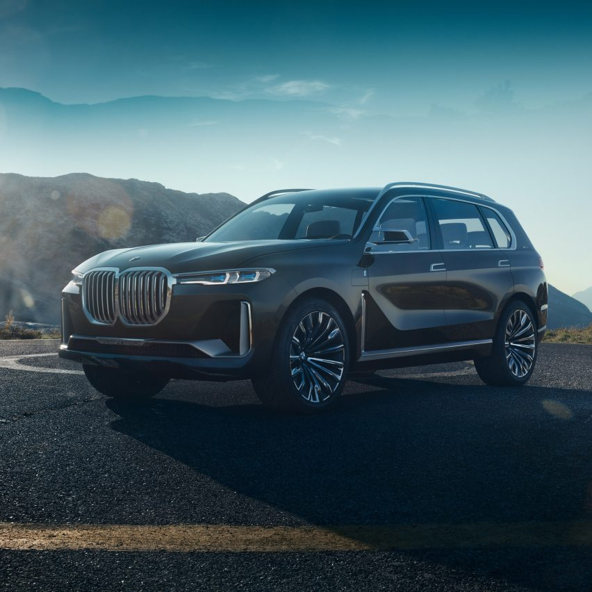 Bmw X7 Interior: BMW Unveils Spacious X7 Concept Car As Part Of Expanded