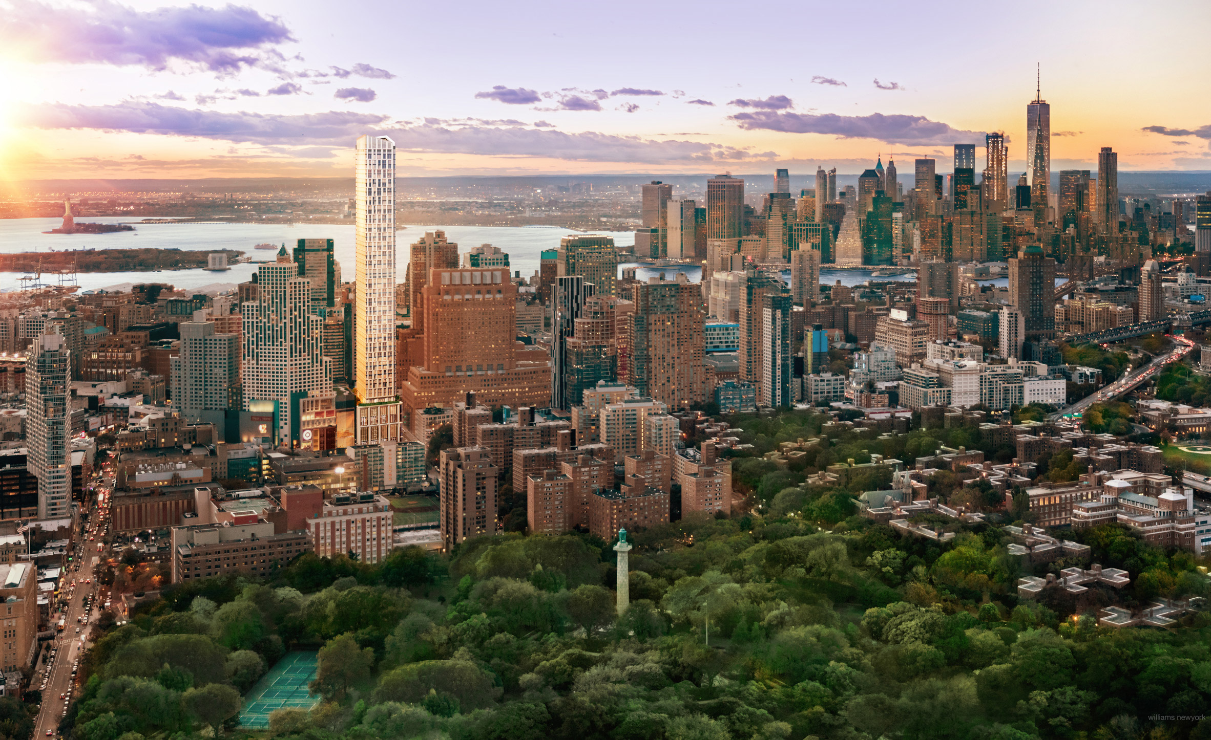 KPF reveals plans for Brooklyn's second tallest building