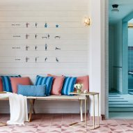 "AvroKO's interiors for Calistoga Motor Lodge and Spa look like ""a fictitious Wes Anderson film"""