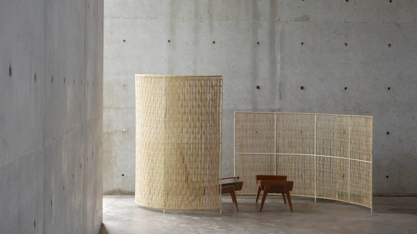 Casa Wabi installations at Design Week Mexico