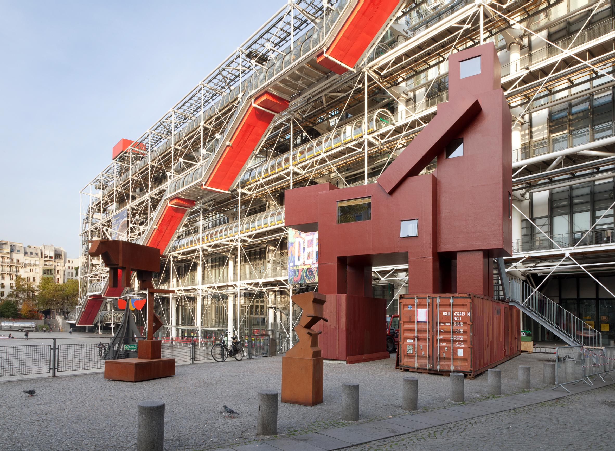 Centre Pompidou showcases Atelier van Lieshout sculpture that was too lewd for Louvre