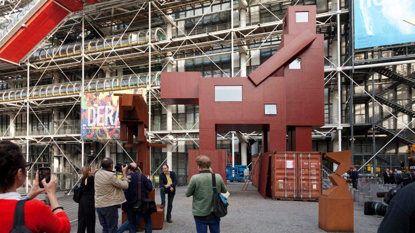 Centre Pompidou Atelier van Lieshout Domestokator