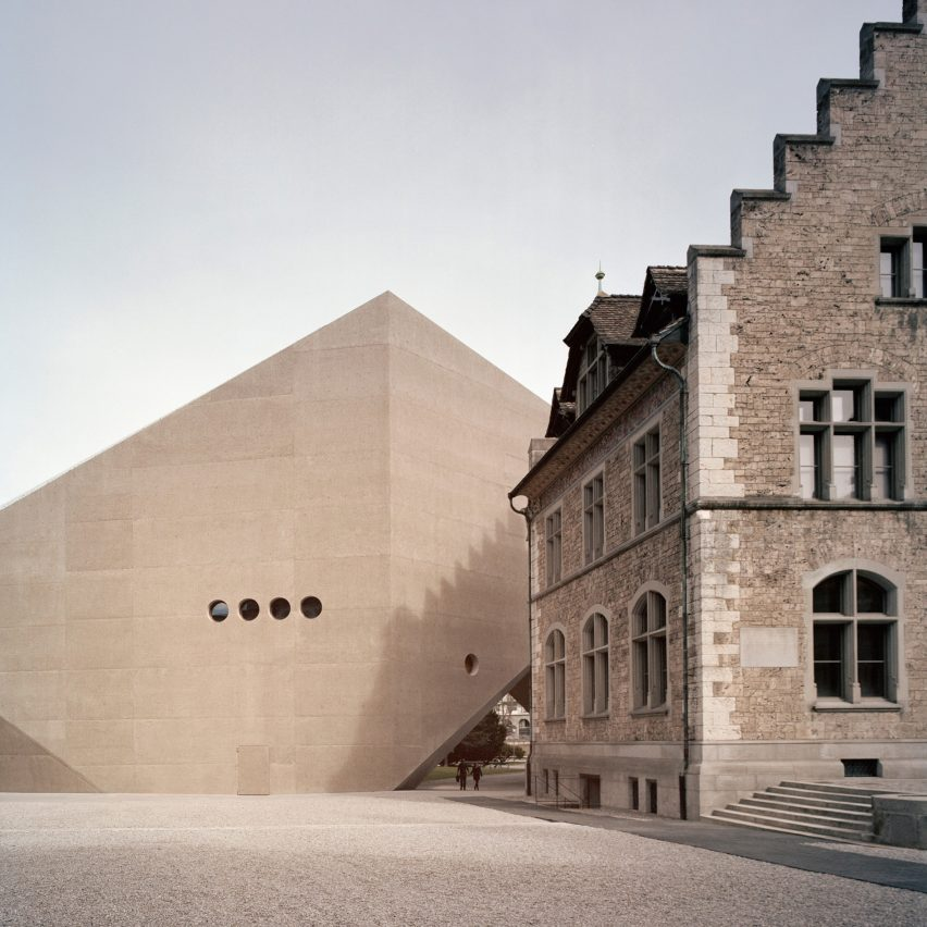 National Museum Zurich extension by Christ & Gantenbein, Zurich, Switzerland