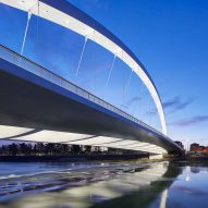 Cittadella Bridge by Richard Meier