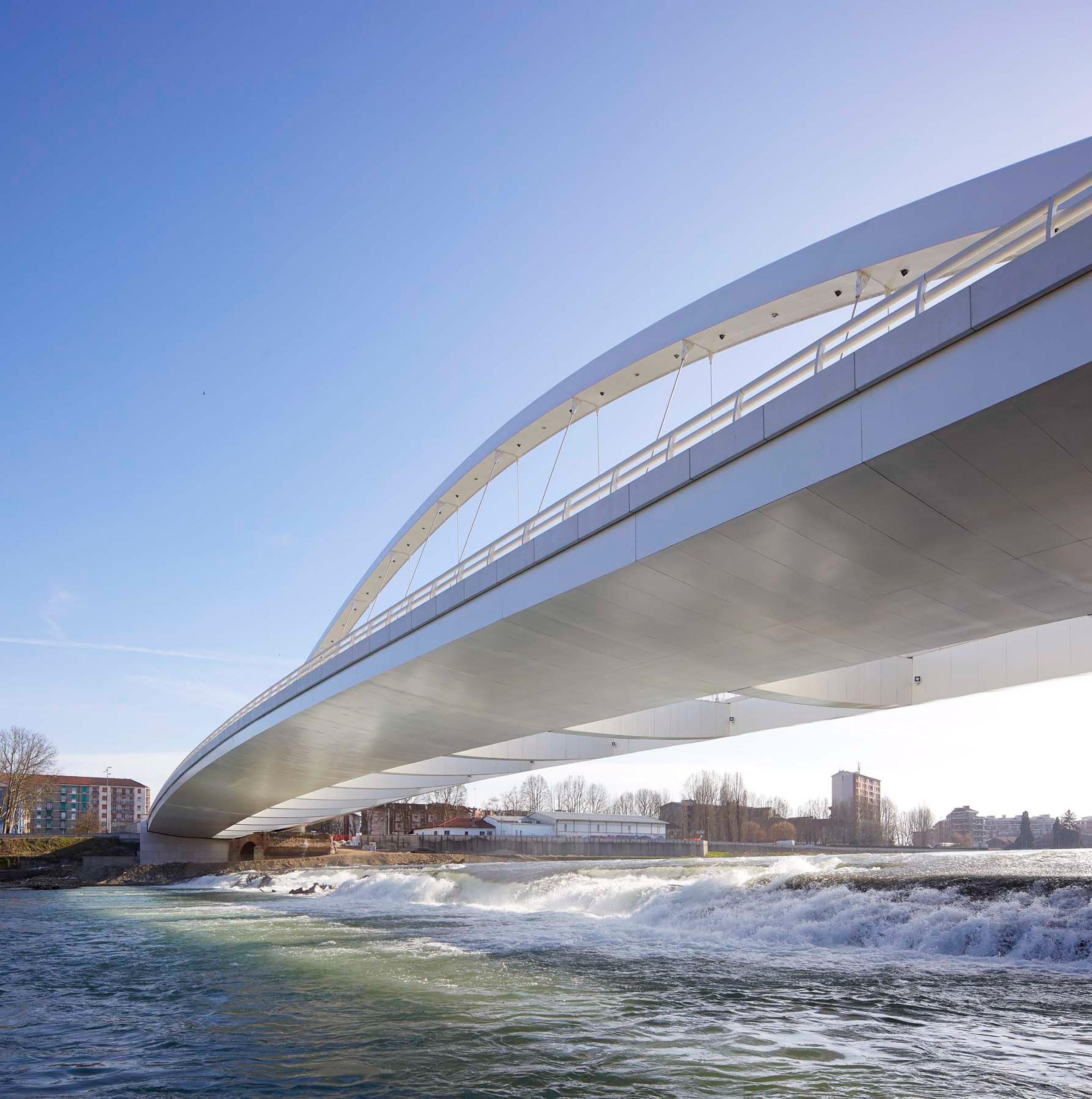 Cittadella Bridge by Richard Meier