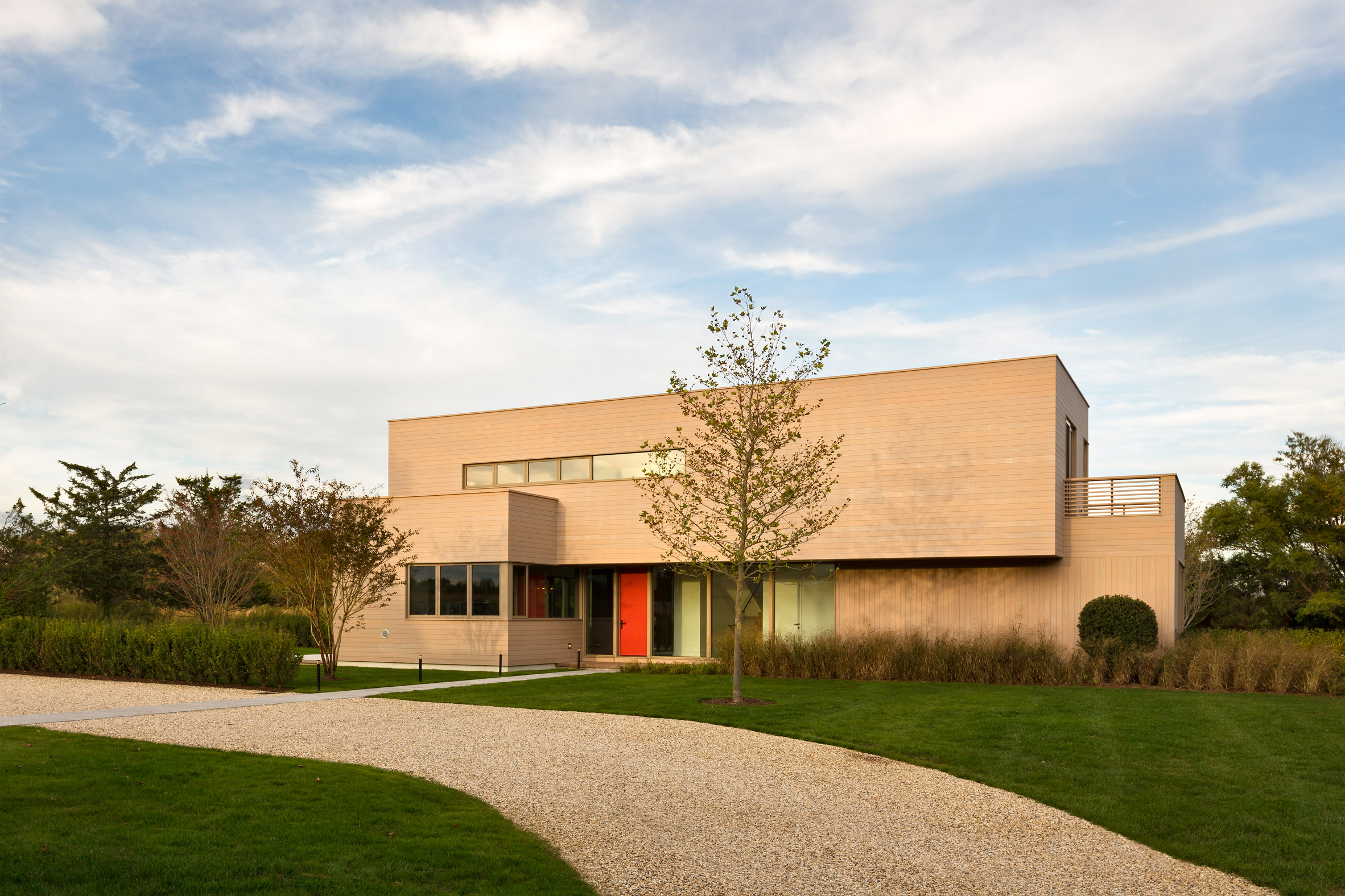 Hamptons house by Deborah Berke Partners contains two workout areas