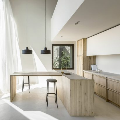 Arjaan De Feyter Combines Light And Warm Materials In Converted Brewery Apartment