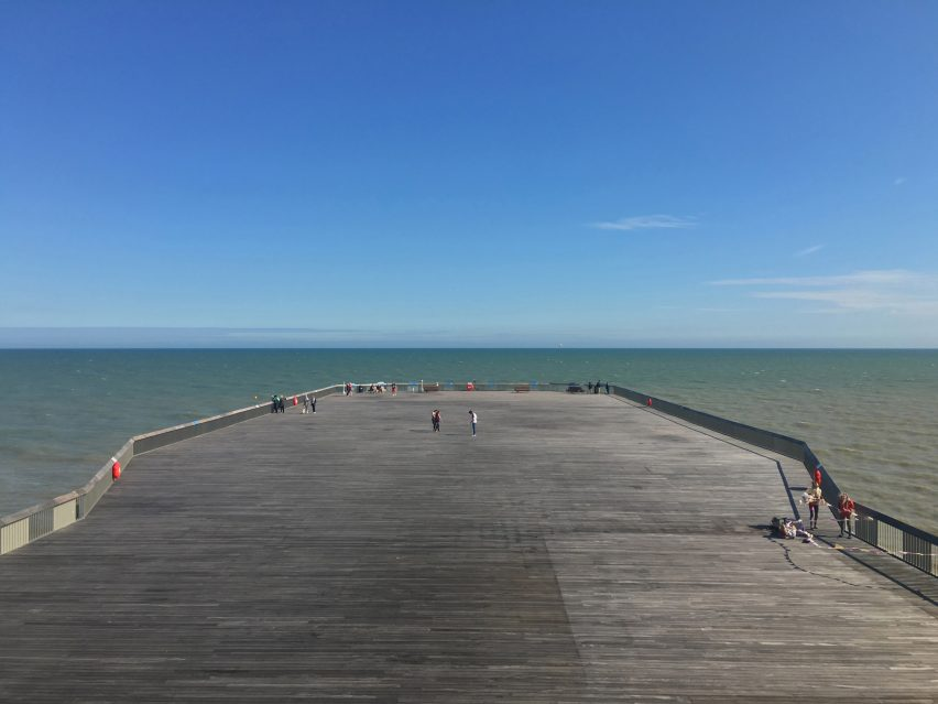 Ghost to coast: Hastings Pier voted best new building