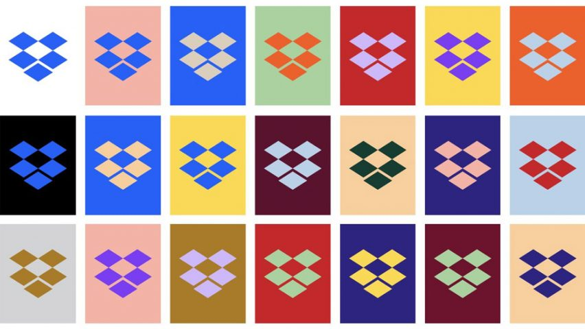 Dropbox attracts criticism for clashing colours of new visual identity