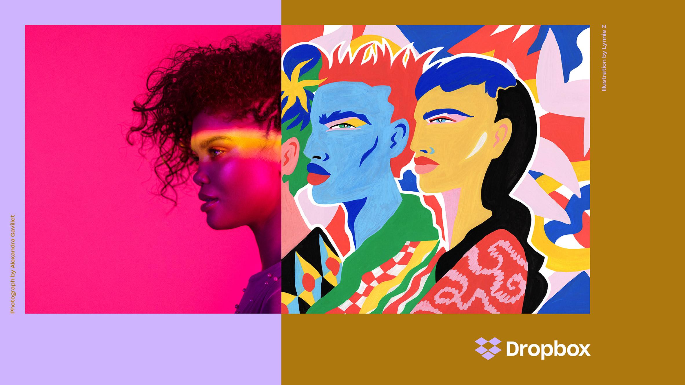 Dropbox Criticised For Colourful New Visual Identity