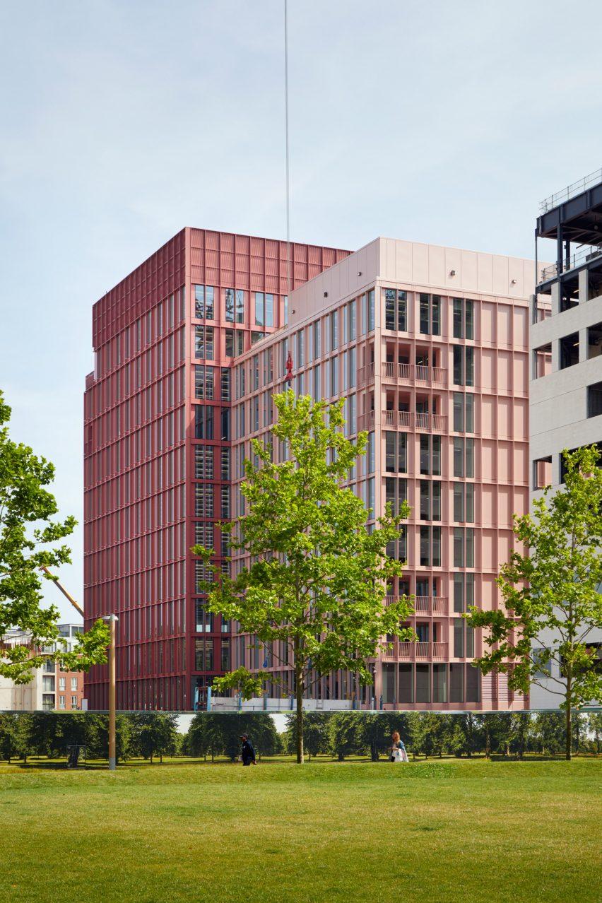 Duggan Morris Builds Office With Millennial Pink Exterior In