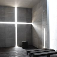 Tadao Ando creates full-scale mock up of Church of the Light for Tokyo exhibition