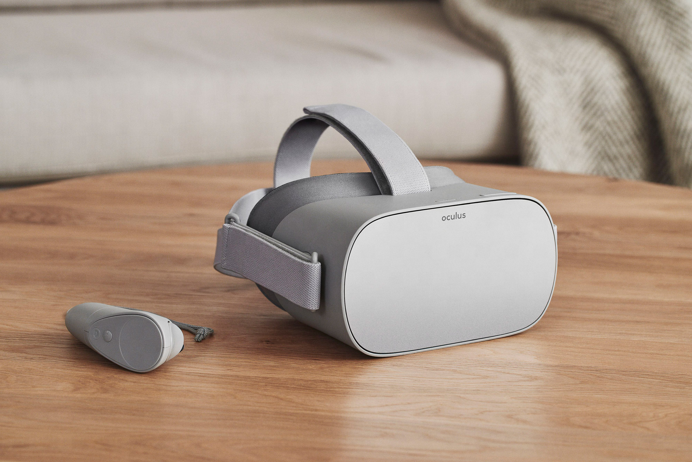Facebook launches virtual-reality headset that can be used without other devices