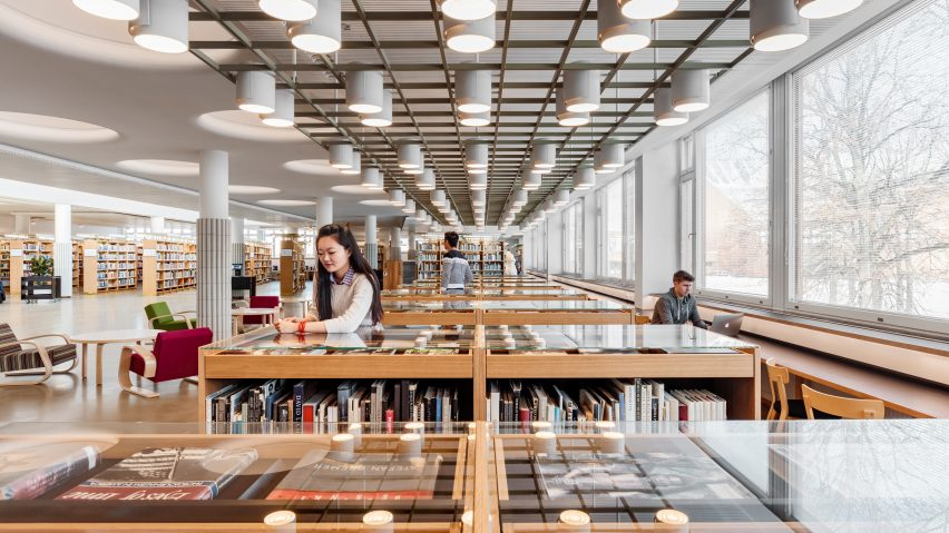 Alvar Aalto library renovation wins Finlandia Prize for Architecture