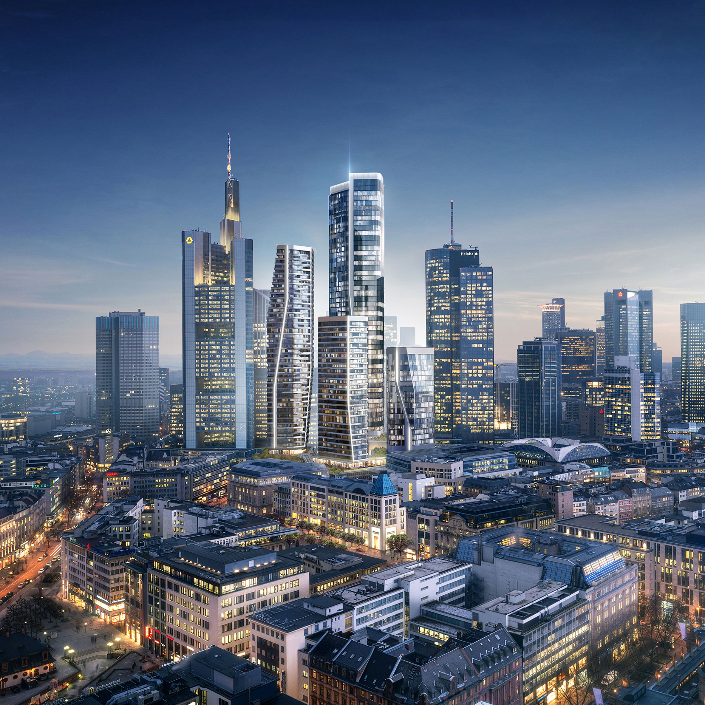 Frankfurt Embarks On Brexit Building Boom With New High Rises By BIG UNStudio And More